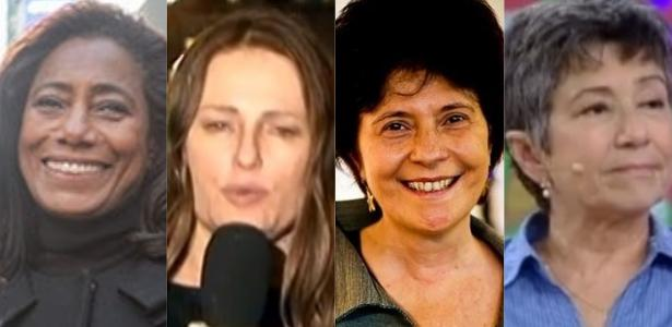 Repórteres veteranas do jornalismo na TV