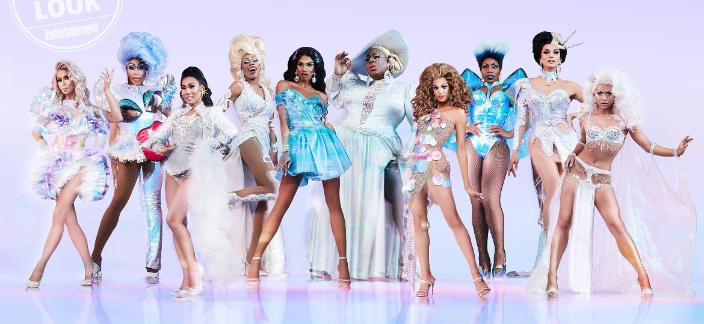 """As competidoras do """"RuPaul""""s Drag Race All Stars"""", quarta temporada - Divulgação/EW"""