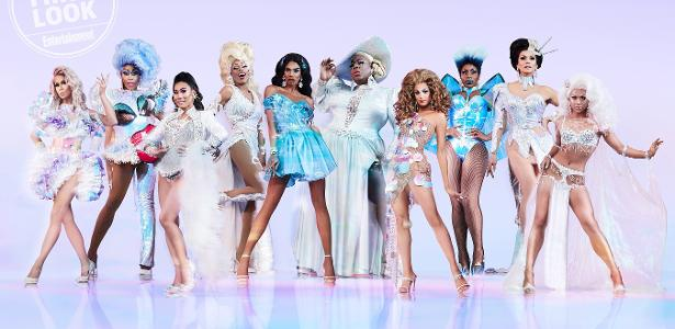 "As competidoras do ""RuPaul's Drag Race All Stars"", quarta temporada"