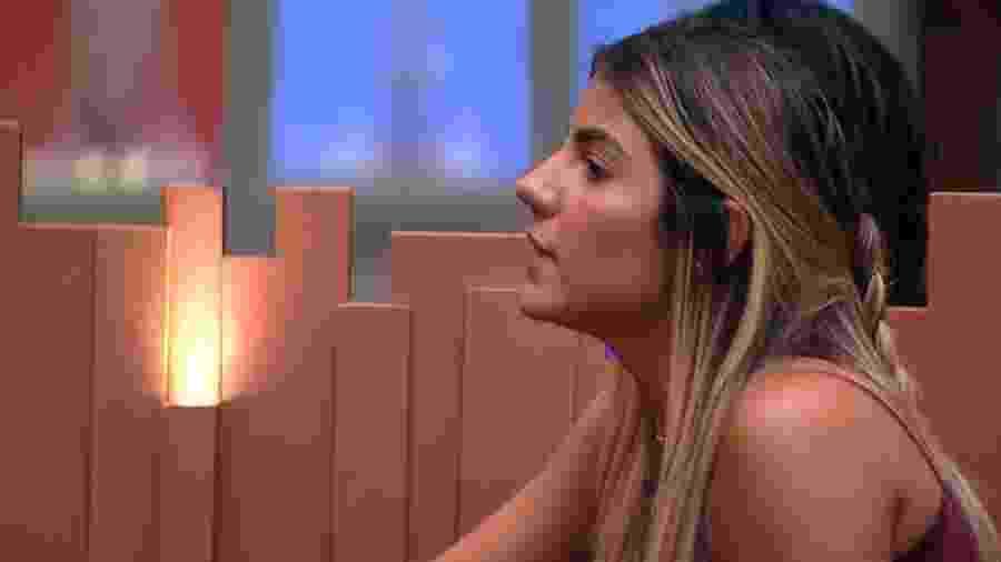 Hariany reclama de comportamento de Tereza - Reprodução/Globoplay