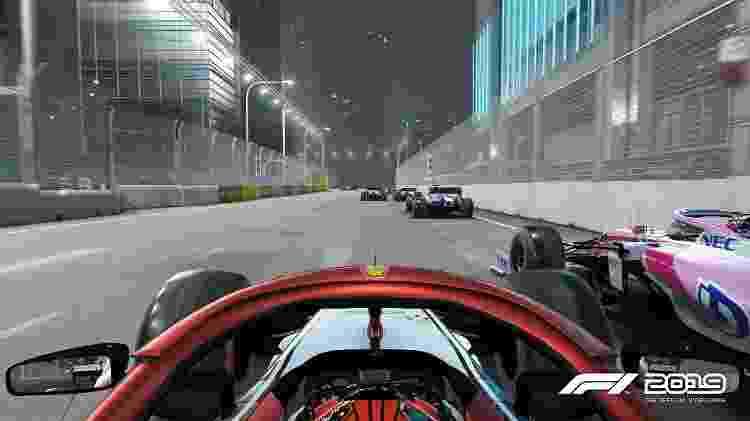 Quase real: gráficos do game F1 2019 são altamente detalhados - Divulgação