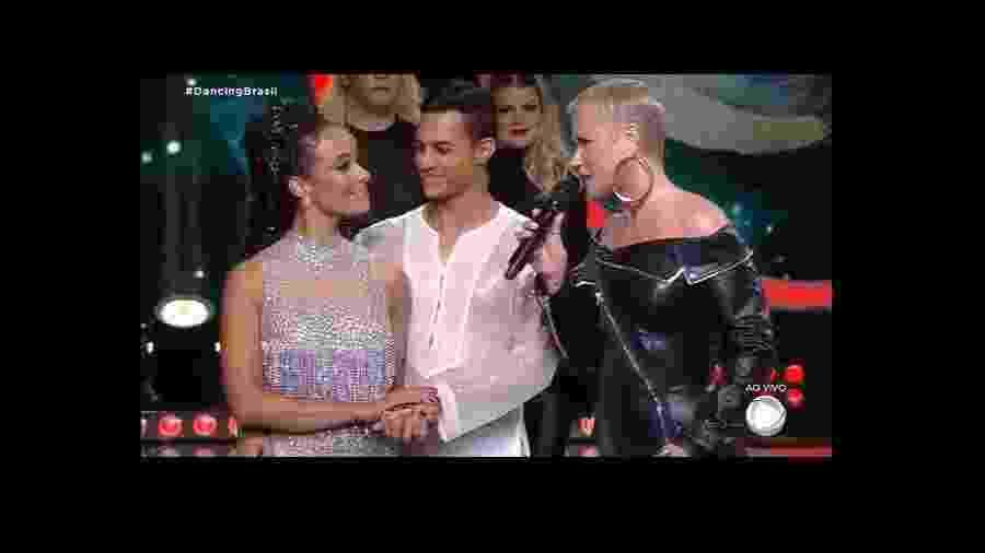 Alinne Prado é eliminada do Dancing Brasil - Reprodução