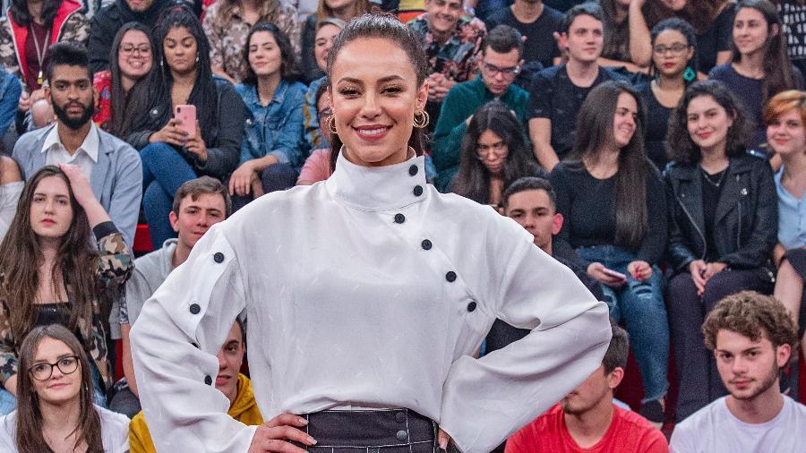 Paolla Oliveira participa do programa Altas Horas, da Globo, que vai ao ar neste sábado (31) - Fábio Rocha / Globo