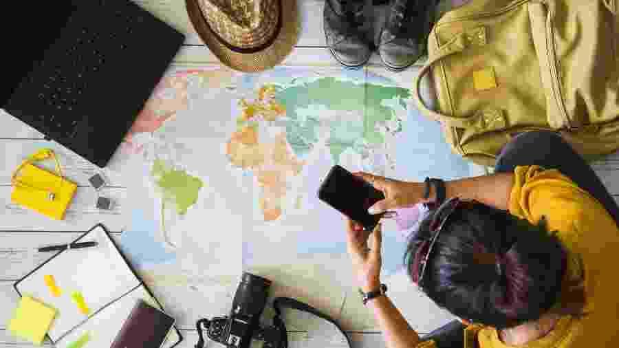 O número global de passageiros pode chegar a 7,2 bilhões em 2035 - Getty Images/iStockphoto