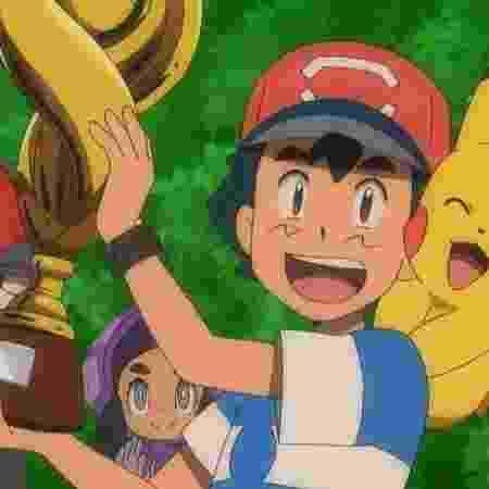 Ash Ketchum venceu a Liga Pokémon em episódio exibido neste fim de semana - Reprodução