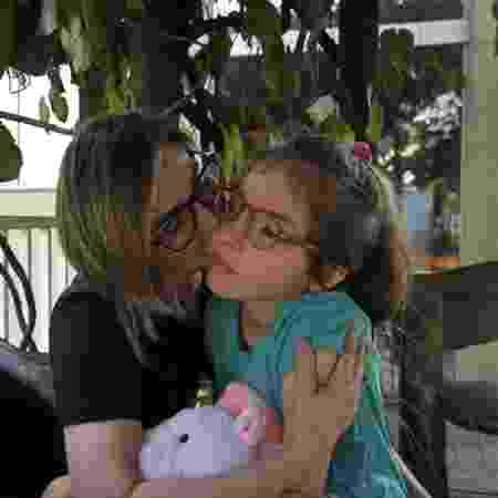 Anny teve diagnosticada a síndrome de Rett CDKL5 - Arquivo Pessoal  - Arquivo Pessoal