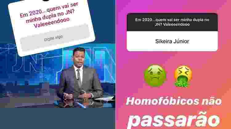 Thiago Rogeh, novo âncora do Jornal Nacional, chama Sikera Junior de homofóbico - Reprodução/Instagram/thiagorogeh