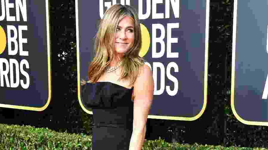Jennifer Aniston, indicada ao prêmio de melhor atriz pela série The Morning Show - Frazer Harrison/Getty Images