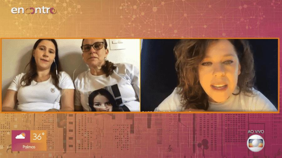 """Bárbara Paz deu depoimento sobre doação de órgãos no """"Encontro"""" ao ouvir história de noiva que salvou 9 vidas - Reprodução/GShow"""