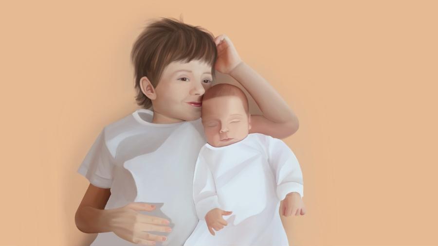 mãe não julga / irmãos  - Imagem: Giovana Granchi/UOL