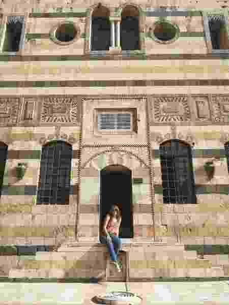 Ana Vieira em Damasco, Síria - Arquivo pessoal - Arquivo pessoal