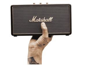 Caixa de som Marshall - Divulgação - Divulgação