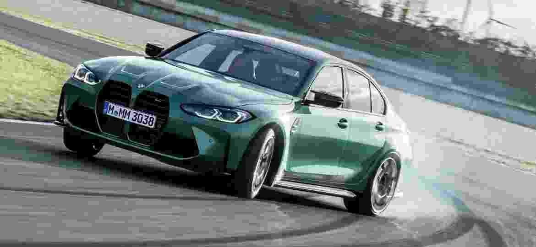 Nova geração do M3 é um dos lançamentos da BMW para 2021 - Divulgação