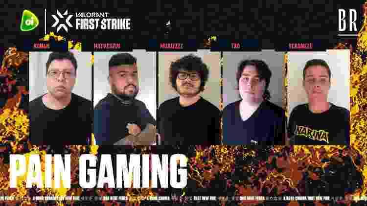 paiN Gaming - Divulgação/RiotGamesBrasil - Divulgação/RiotGamesBrasil