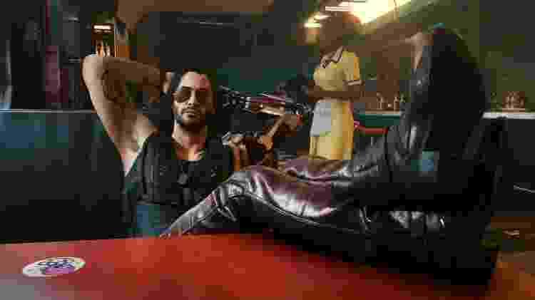 Keanu Reeves Cyberpunk 2077 - Divulgação/CD Projekt Red - Divulgação/CD Projekt Red