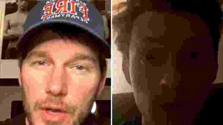 Tom Holland fica surpreso com o comentário de Chris Pratt - Reprodução/ Instagram - Reprodução/ Instagram