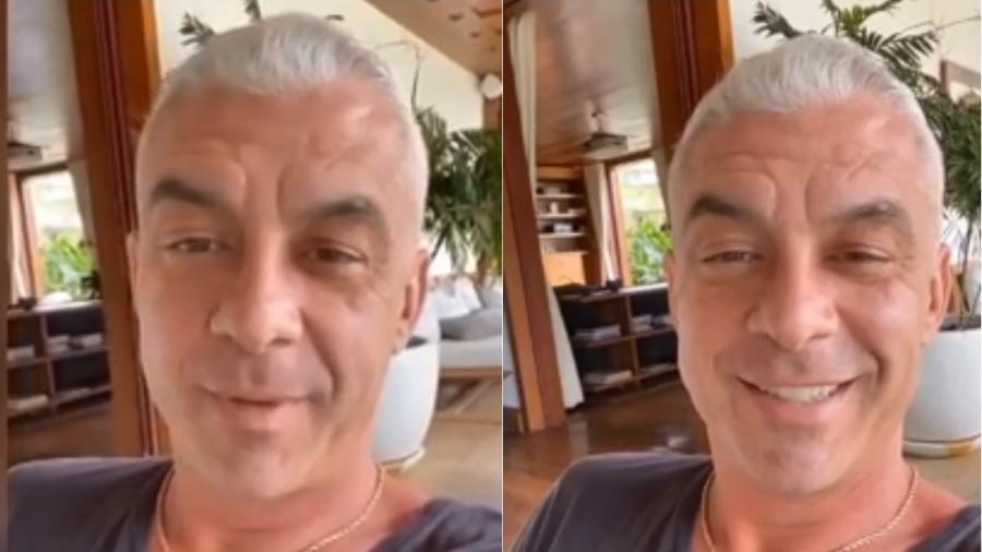 Alexandre Correa comemora volta do paladar após tratamento contra câncer - Reprodução/Instagram