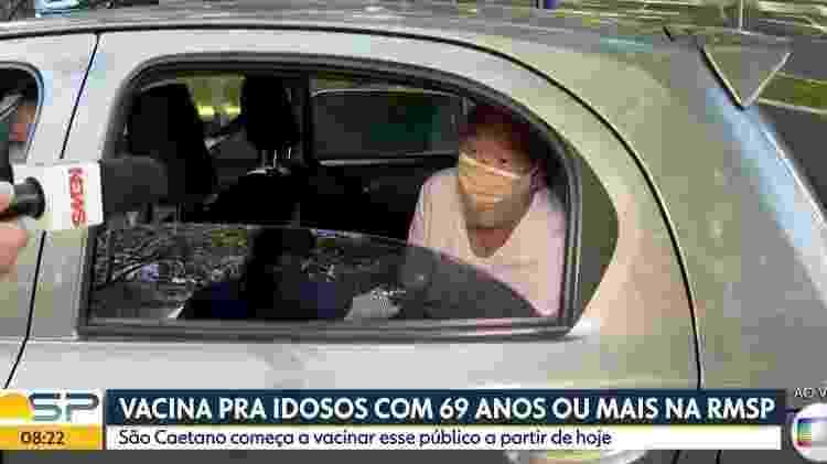 Vacina - Reprodução/TV Globo - Reprodução/TV Globo