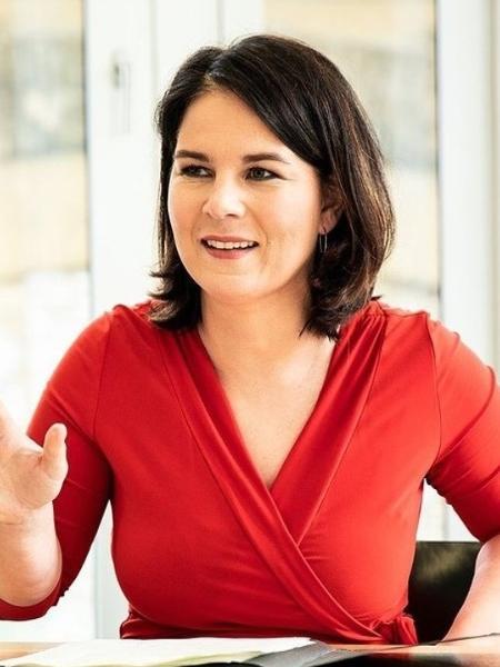 Annalena Baerbock foi a candidata do partido Verde nas eleições - reprodução Instagram