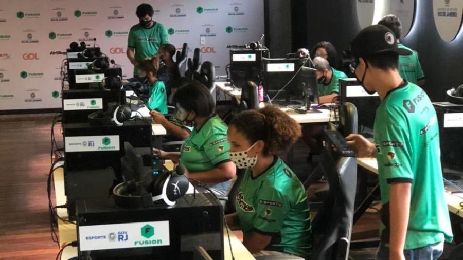 AfroGames: estrutura de ponta para formar atletas de eSports em Vigário Geral, no Rio - Divulgação/AfroGames