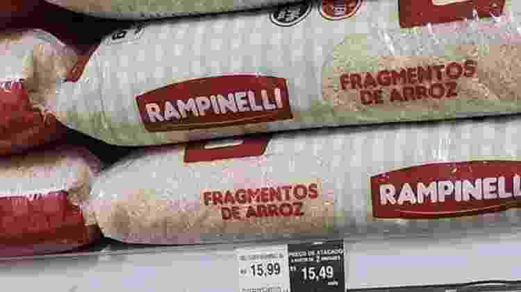 fragmento arroz - Reprodução/Twitter - Reprodução/Twitter