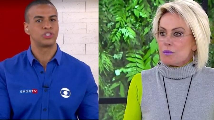 """Thiago Oliveira comentou destaques das Olimpíadas no """"Mais Você"""" com Ana Maria Braga - Reprodução/TV Globo"""