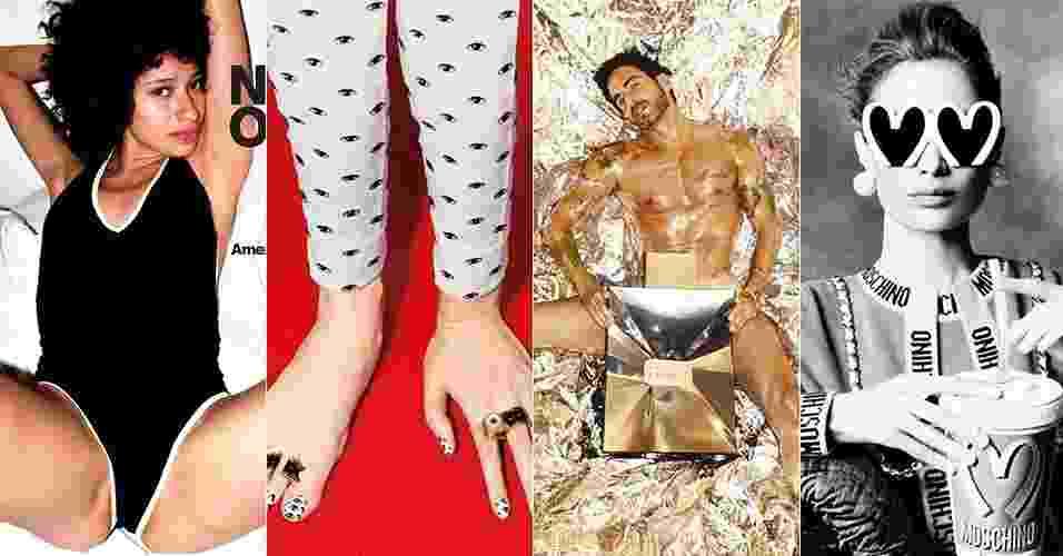 Campanhas de moda muito doidas - Divulgação