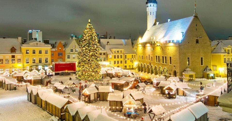 Tallin, na Estônia
