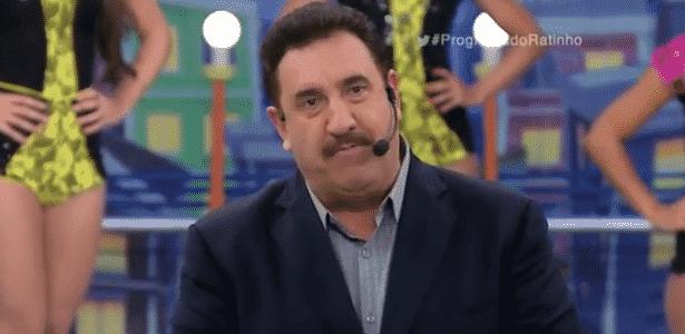 Golpista liga e convida Ratinho para participar do seu próprio programa - Reprodução/TV Globo