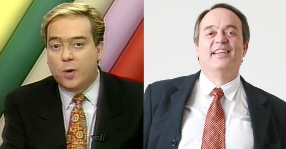 """Ivo Morganti trocou o jornalismo esportivo pela bancada do """"Aqui Agora"""" em 1991. Deixou o telejornal em 1996 e hoje apresenta um programa de sorteios para TVs do litoral paulista"""