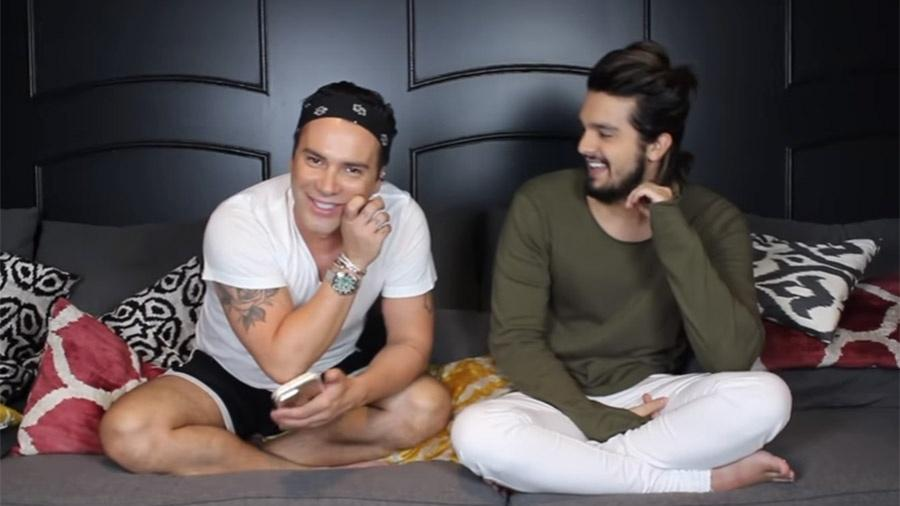 Luan Santana participa do canal no Youtube do estilista Matheus Massafera
