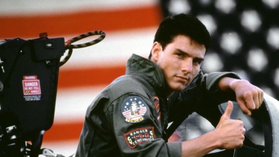 """Tom Cruise em cena de """"Top Gun"""" - Divulgação"""