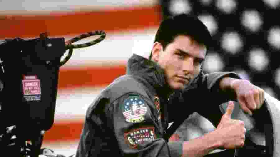 Tom Cruise em cena de Top Gun - Divulgação