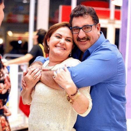 Ratinho e a mulher, Solange Massa - Reprodução/Instagram/oratinho