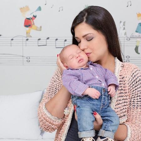 Thais Fersoza com o filho, Teodoro - Reprodução/Instagram