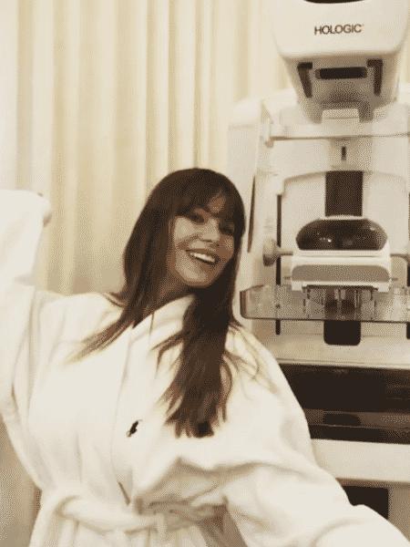 Sofia Vergara mostra sua rotina preventiva no consultório médico - Reprodução/Instagram