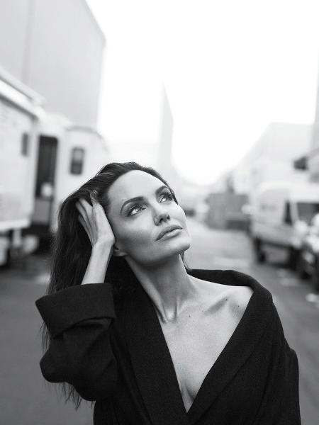 Angelina Jolie  - Divulgação/Vanity Fair