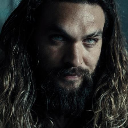 """Aquaman em """"Liga da Justiça"""" - Divulgação"""