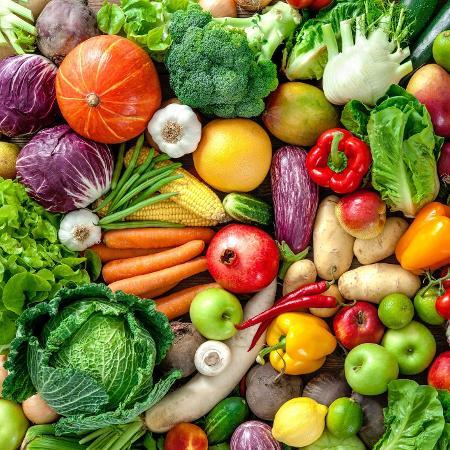 Legumes, frutas e verduras - iStock