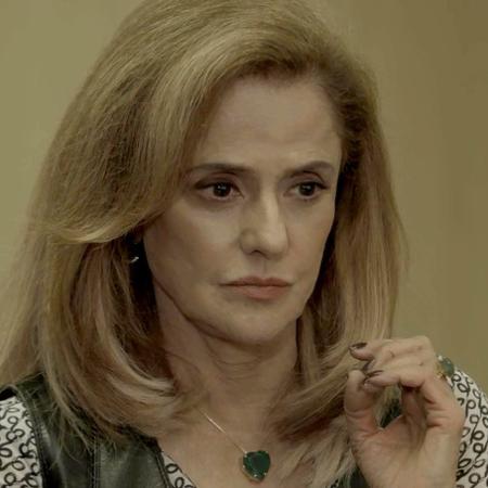 Sophia será chantageada pelo segurança e vai assassiná-lo - Divulgação / TV Globo