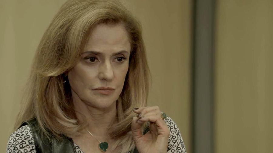 Sophia (Marieta Severo) começa a planejar sua reação à vingança de Clara - Divulgação / TV Globo