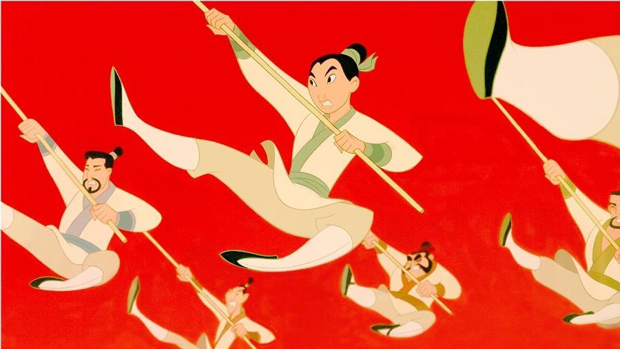 """Cena da animação """"Mulan"""" - Reprodução"""