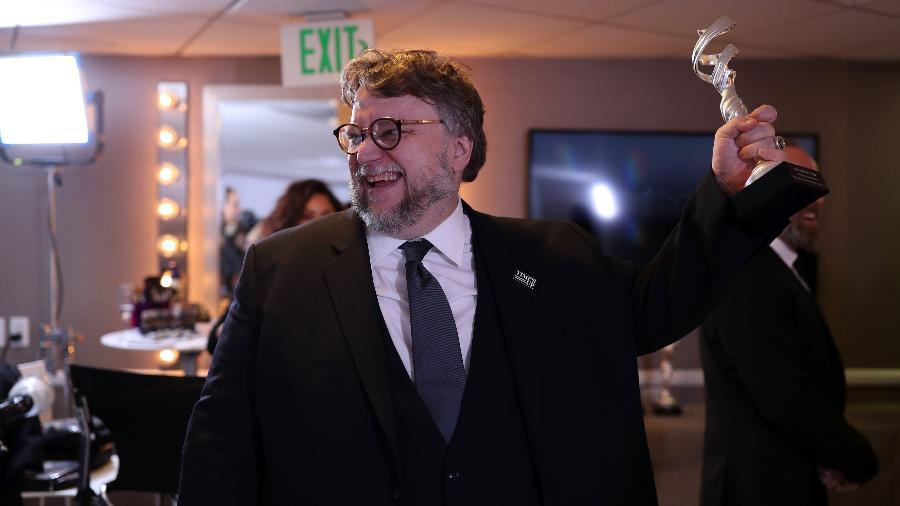 O diretor Guillermo del Toro em premiação em Beverly Hills - Christopher Polk/Getty Images for JumpLine