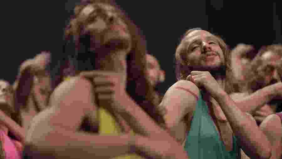 Bailarinos ensaiam para espetáculo com canções de Caetano Veloso - Rodrigo Fonseca/Divulgação