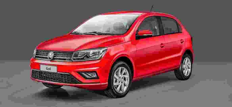 """Volkswagen Gol 2019: """"carinha"""" da antiga versão Track agora compõe toda a gama do hatch e também do sedã Voyage - Divulgação"""