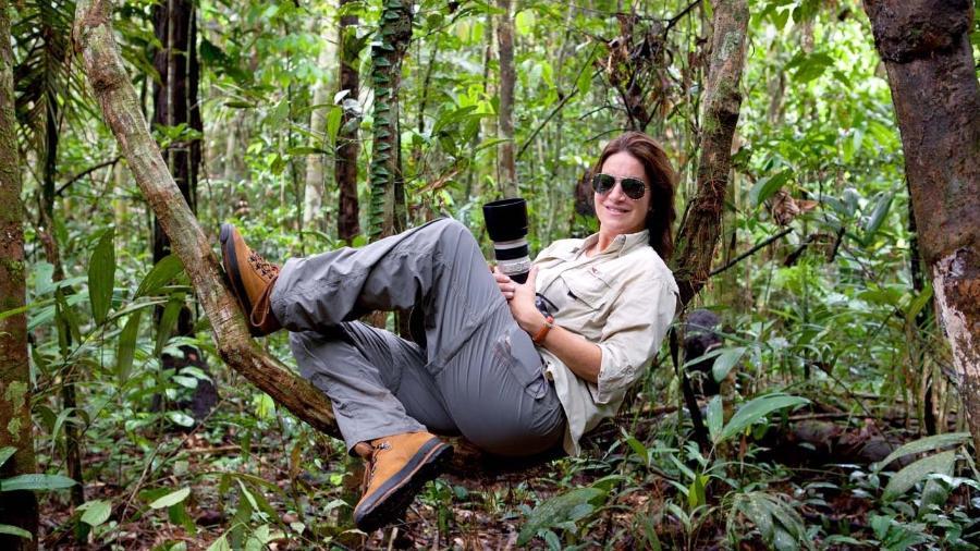 Marina Klink em viagem à Amazônia  - Arquivo pessoal