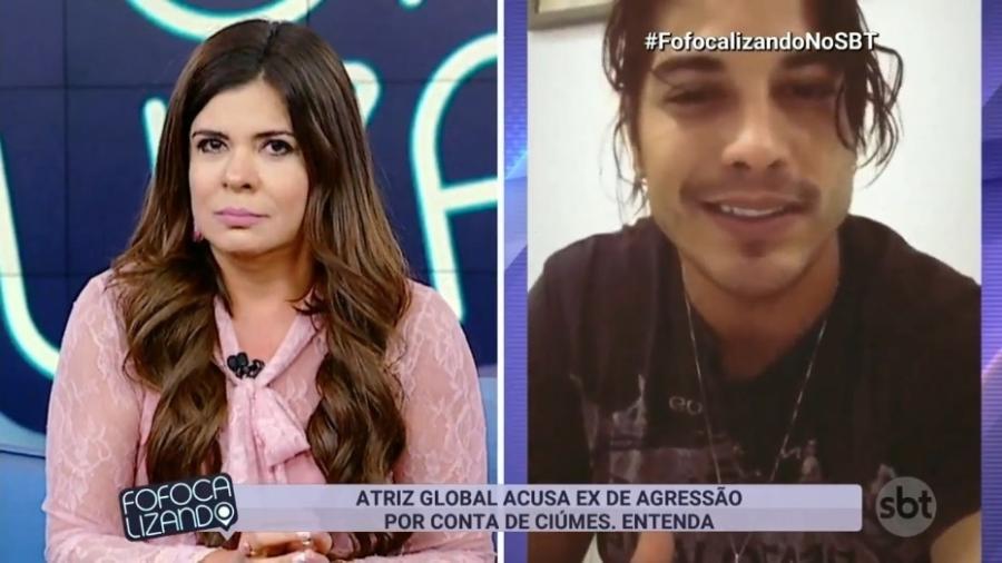 """Mara Maravilha comenta suposta agressão de Douglas Sampaio, que conheceu em """"A Fazenda 8"""" - Reprodução/SBT"""