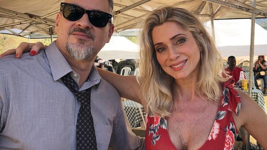 """Dan Stulbach e Leticia Spiller começam a gravar """"O Sétimo Guardião"""", próxima novela das nove da Globo - Reprodução/Instagram/arealspiller"""