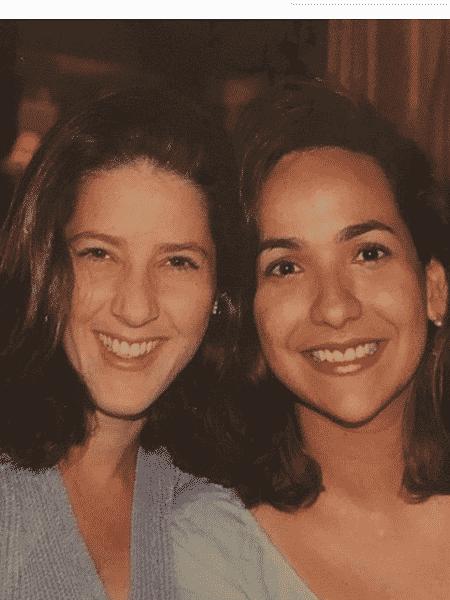Christiane Pelajo e Maria Beltrão em clique antigo - Reprodução/Instagram
