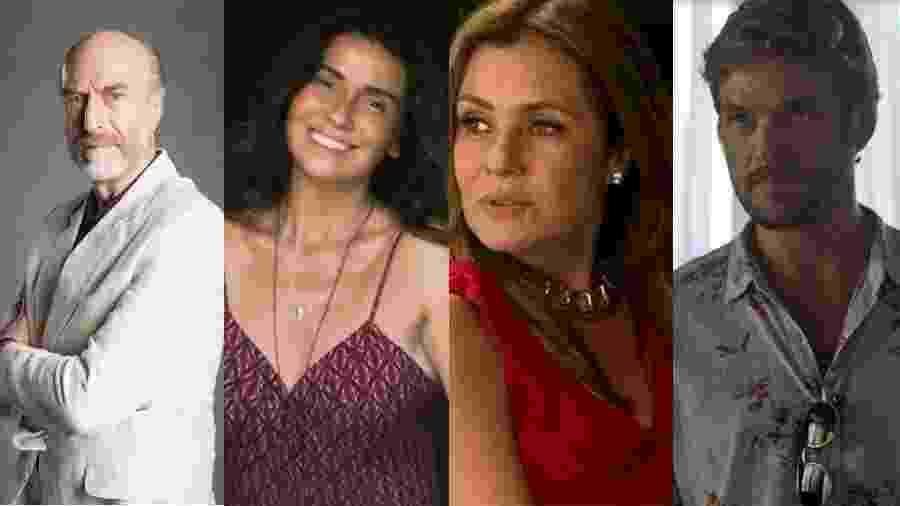 João Cotta/Globo/Divulgação/Globo/Reprodução/Globo/Reprodução/Globo/Montagem UOL